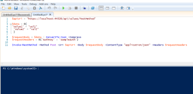 Calling POST REST API in powershell with headers | randomtutes